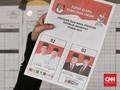 Real Count KPU 13,7 Persen: Jokowi Sementara Ungguli Prabowo