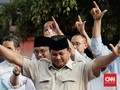 Prabowo: Hasil Real Count Kita Menang 62 Persen