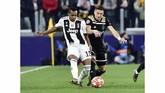 Usai leg pertama yang berakhir 1-1, Juventus menjadi tuan rumah leg kedua perempat final Liga Champions 2018/2019 menjamu Ajax pada Rabu (17/4) dini hari waktu Indonesia barat. (REUTERS/Massimo Pinca)