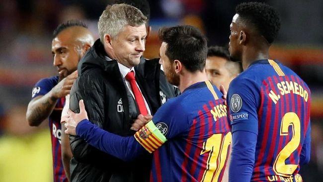 6 Rekor Lionel Messi Usai Barcelona Kalahkan Man United