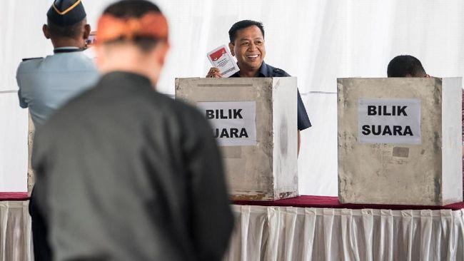 Jokowi Unggul di 2 TPS Penjara Koruptor Lapas Sukamiskin