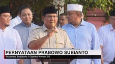 VIDEO: Respons Quick Count, Prabowo Klaim Menang di Exit Poll