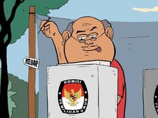 Real Count KPU: PSI & 6 Partai yang Terancam Gagal ke Senayan
