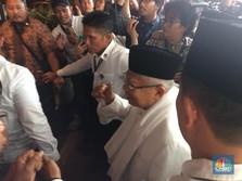 Jokowi Unggul Sementara, Kiai Ma'ruf: Sesuai dengan Prediksi!