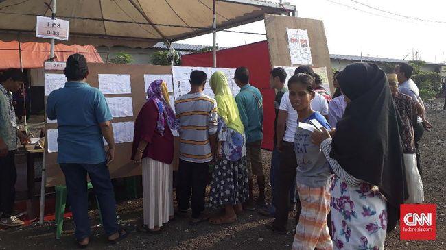 Ironi Warga Kampung Akuarium Pakai Hak Pilih di Tanah Gusuran