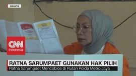 Ratna Sarumpaet Gunakan Hak Pilih Dari Polda Metro Jaya