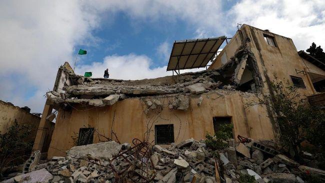 Israel Hancurkan Rumah Warga Palestina Pelaku Penembakan