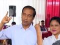 VIDEO: Habis Nyoblos, Jokowi Ajak Istri Makan Siang