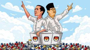 Real Count KPU: 23% Suara Masuk, Jokowi-Ma'ruf Kuasai 55,24%
