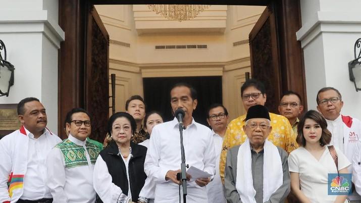 Real Count KPU 18.00 WIB: Jokowi 54,95% & Prabowo 45,05%