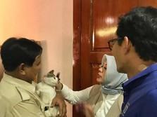 'Hilang' Saat Prabowo Pidato Menang, Begini Kondisi Sandiaga