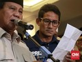 Prabowo-Sandi Unggul Telak dari Jokowi-Ma'ruf di Arab Saudi
