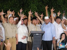 Real Count KPU 19.00 WIB: Prabowo Tertinggal 7,48 Juta Suara