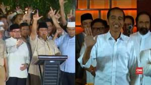 VIDEO: Klaim Kemenangan Prabowo dan Sikap Santai Jokowi