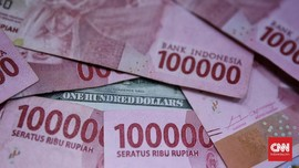 Data ekonomi AS Tekan Rupiah ke Rp14.105 per Dolar AS