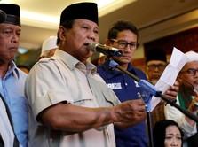 Prabowo, Sandiaga, dan Persentase Kemenangan 62%