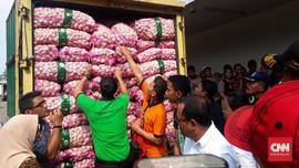 Operasi Pasar, Importir Gelontorkan 8 Ton Bawang Putih