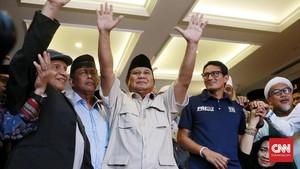 Tim Prabowo Gugat ke MK Jika Hasil KPU Beda dengan Kubu 02