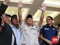 Sandi 'Menghilang' Usai Prabowo Deklarasi Presiden 2019-2024