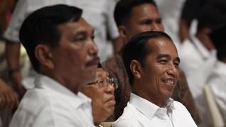 Jokowi-Ma'ruf Unggul 56,74 Persen di Hitungan Suara Internal