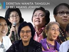 Deretan Wanita Tangguh di Belakang Jokowi