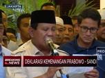 Yakin Menang juga, Ini Dia Victory Speech Prabowo