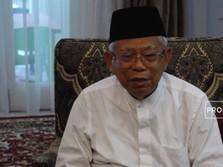 Dituduh Curang di Pilpres 2019, Ma'ruf Amin Buka Suara