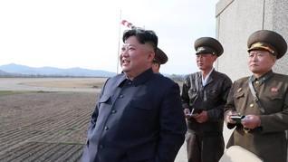 Kim Jong-un Pimpin Uji Coba Senjata Baru Korut