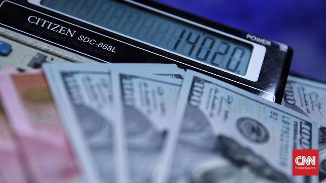 Loyo Lagi, Rupiah Kembali Tertekan ke Rp14.460 per Dolar AS