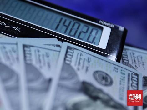 Tunggu Rapat FOMC, Rupiah Menguat ke Rp14.328 per Dolar AS