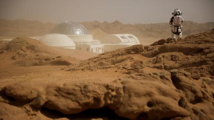 Simak Sensasi Pelajar China Simulasi Hidup di Pelanet Mars