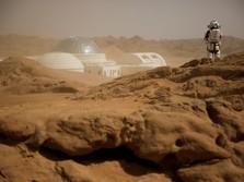 Ketika Planet Mars Jadi 'Medan Perang' Baru AS dan China