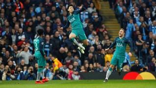 FOTO: Delapan Pemain Kunci Manchester City vs Tottenham