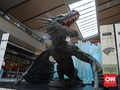 Ice Dragon 'Game of Thrones' Mejeng di Mal Jakarta