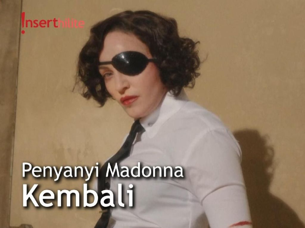 Empat Tahun Vakum, Madonna Akhirnya Rilis Single Album Pertama