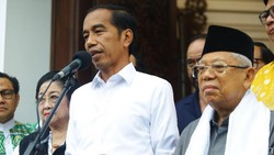 Perjalanan Setahun Pemerintahan Jokowi-Maruf Amin dalam 20 Poin