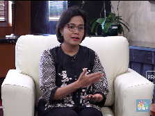 Sri Mulyani Beri Santuan Rp 36 Juta Bagi Petugas KPPS Wafat