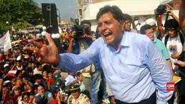 VIDEO: Eks Presiden Peru Bunuh Diri Saat Akan Ditangkap