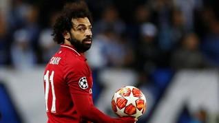 Salah Lebih Banyak Tampil di Liga Champions Ketimbang Kane