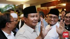 Prabowo soal Utusan Jokowi: Belum ada yang Datang