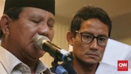 Wajah Lesu dan Minim Senyum Sandi di Deklarasi Kemenangan