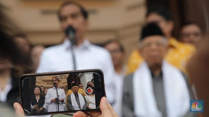 Real Count KPU 07.00 WIB: Jokowi 56,41% & Prabowo 43,59%