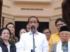 Jokowi Sebut Hasil Quick Count 12 Lembaga: Jokowi-Amin 54,5%!