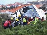 Tragis, Bus Wisata Jatuh dan Tewaskan 29 Orang di Portugal