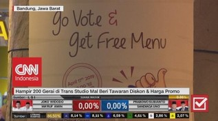 VIDEO: Gelaran Banjir Diskon Saat Pemilu