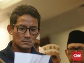 Raut Lesu Sandi, Tak Ingin 'Tercebur' Narasi Prabowo Menang