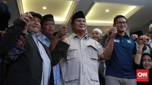 Prabowo-Sandi Deklarasi Presiden dan Wakil Presiden 2019-2024
