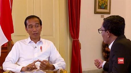VIDEO: Jokowi Akui Hasil Quick Count di Bawah Prediksi