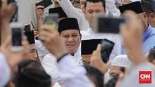 'Prabowo Presiden Kita' Bergema di Jalan Kertanegara Nomor 4