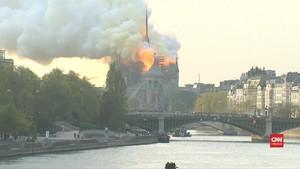 VIDEO: Sumbangan Perbaikan Notre-Dame Capai 900 Juta Euro